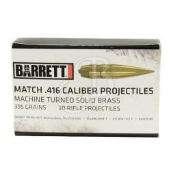 BARRETT - PALLE .416 395GR...