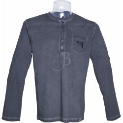 GLOCK HENLEY MEN SHIRT L/S...