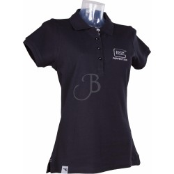 GLOCK POLO WOMEN S/S -GF- NERO