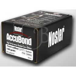 "NOSLER - ACCUBOND 284"" 140..."