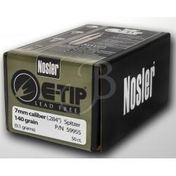 """NOSLER - E-TIP 284"""" 140 GR..."""