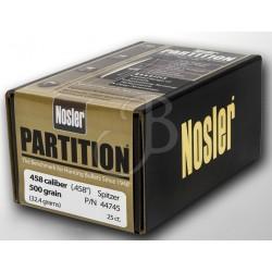 "NOSLER - PARTITION 458"" 500..."