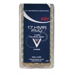 CCI CAL.17 HMR 20GR FMJ 0055