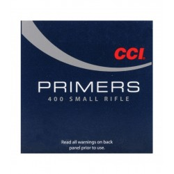 CCI 400 SMALL RIFLE PRIMERS...