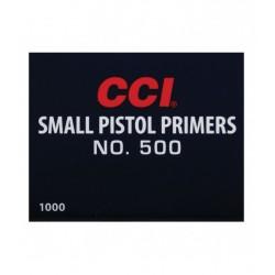 CCI 500 SMALL PISTOL...
