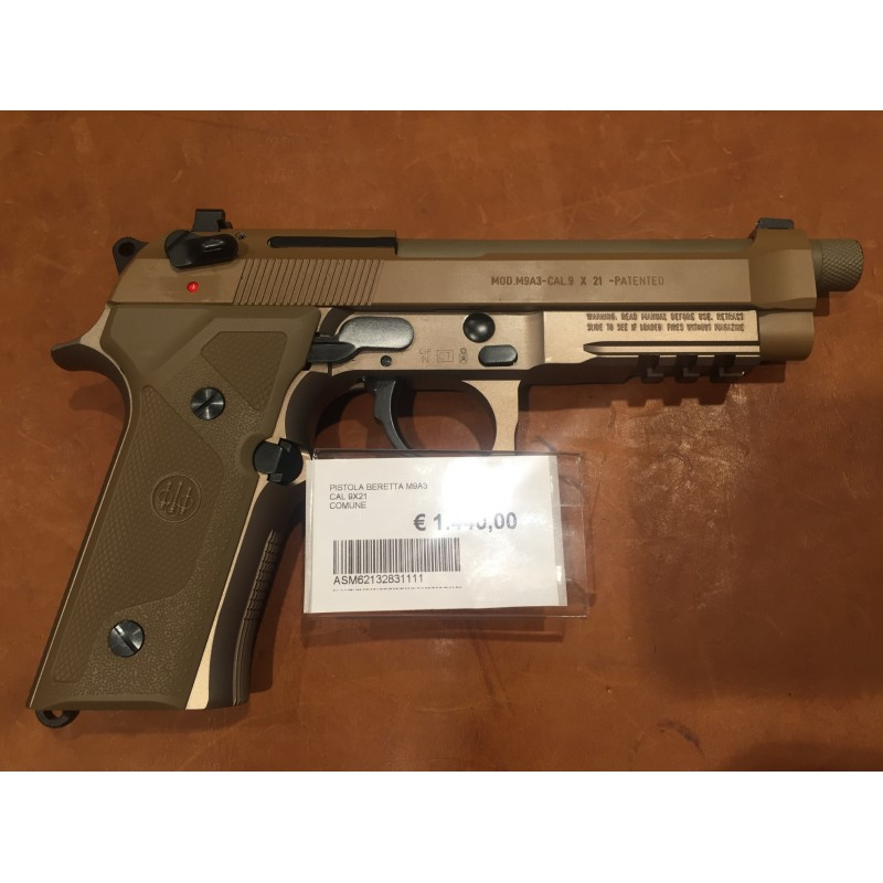 Beretta M9A3 cal 9x21 c4e6cd93fb98